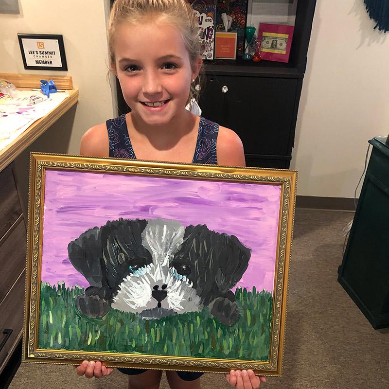 Art Lessons at INJOY Art