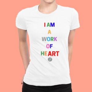 Work of Heart T-Shirt injoy